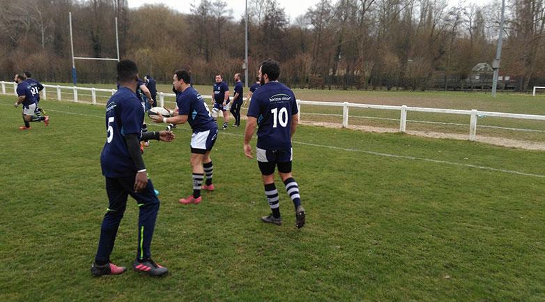 Sponsoring de l'équipe de rugby