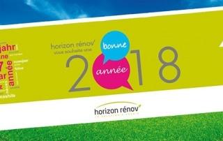 Les équipes d'horizon rénov vous souhaitent une bonne année